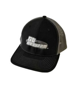 Gt Ice Cream Trucker Hat Black Grey Color