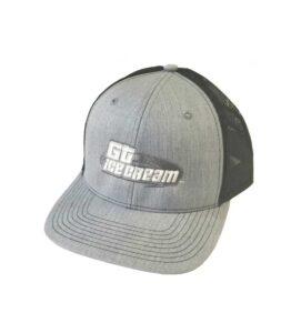 Gt Ice Cream Trucker Hat Grey Black Color