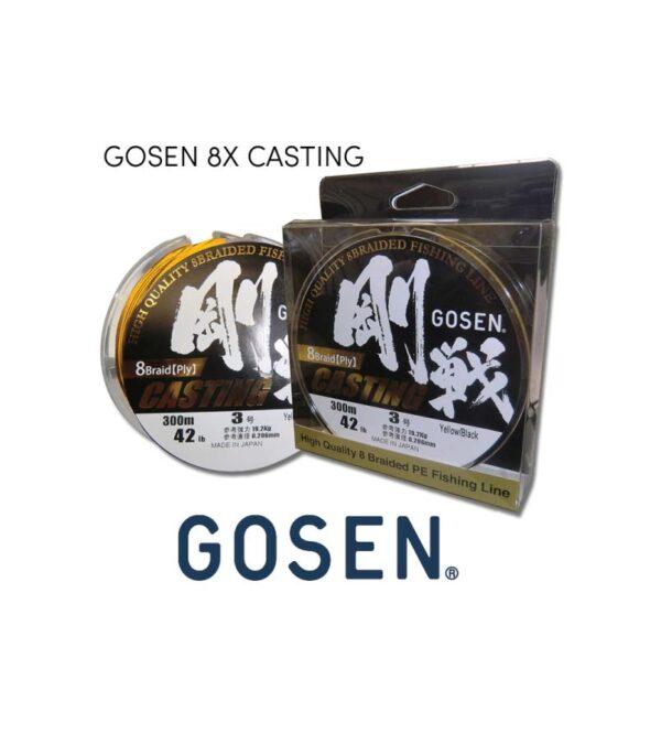 Braid Gosen 8X Casting