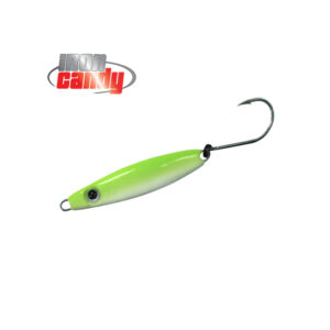 Iron Candy Bullet Lure Chartreuse Glow