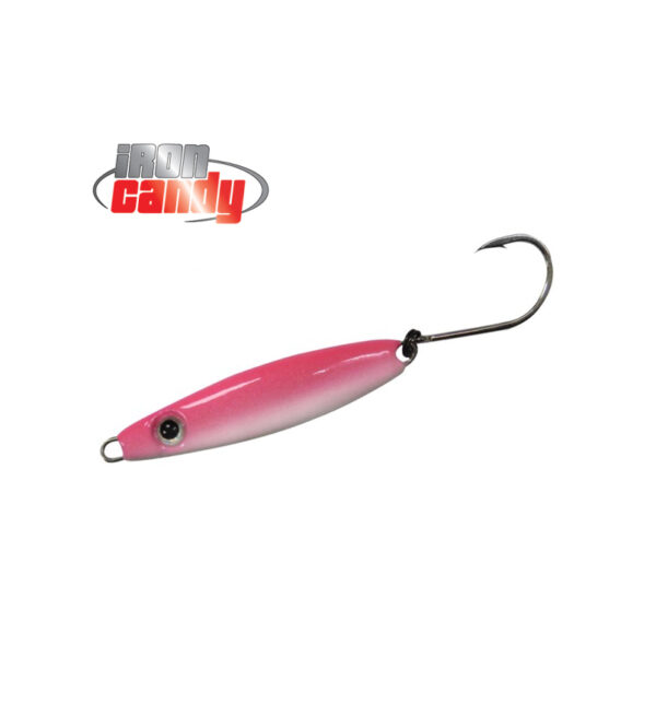 Iron Candy Bullet Lure Pink Glow
