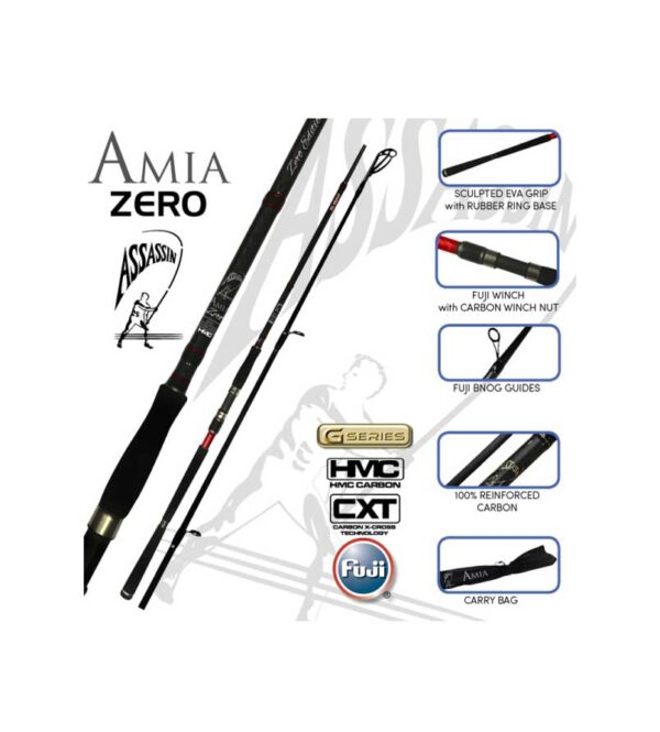 Assassin Ami Zero Surf Rod Product Image