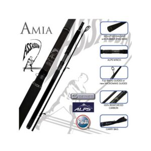 Assassin Ami Zero S Series Surf Rod Product Image