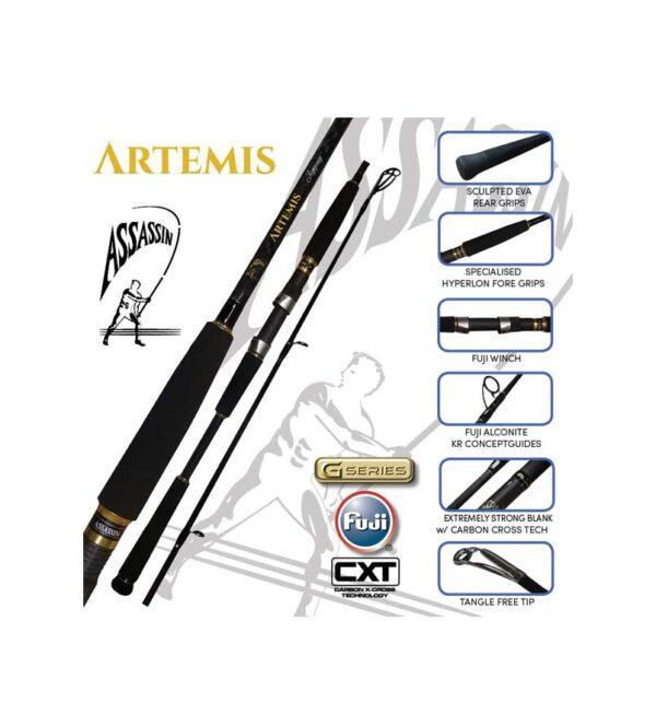 Assassin Artemis Surf Rods Product Image