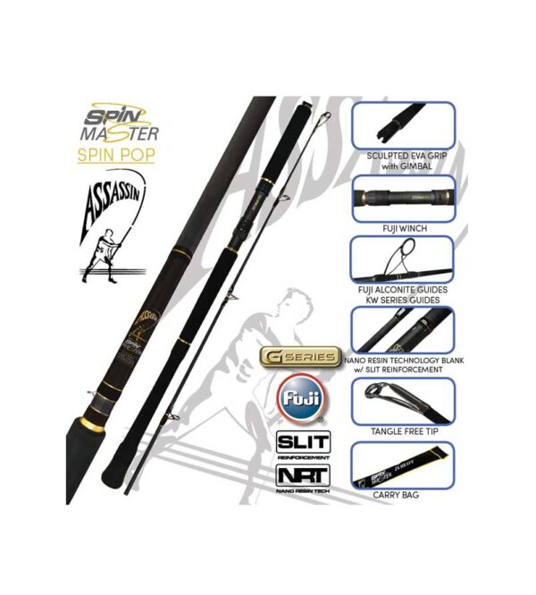 Assassin Spin Master Spin Pop Surf Rods Product Image