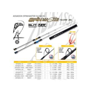 Assassin Spinmaster Slow Jig Rod Product Image